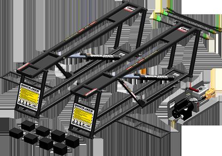 Vehicle Lifts 4 Home - QuickJack Portable Car Lift