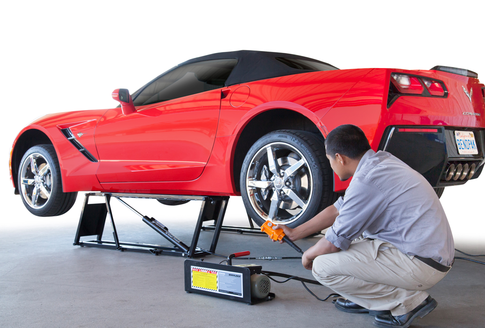 Working Auto Lift : Vehicle lifts home quickjack portable car lift
