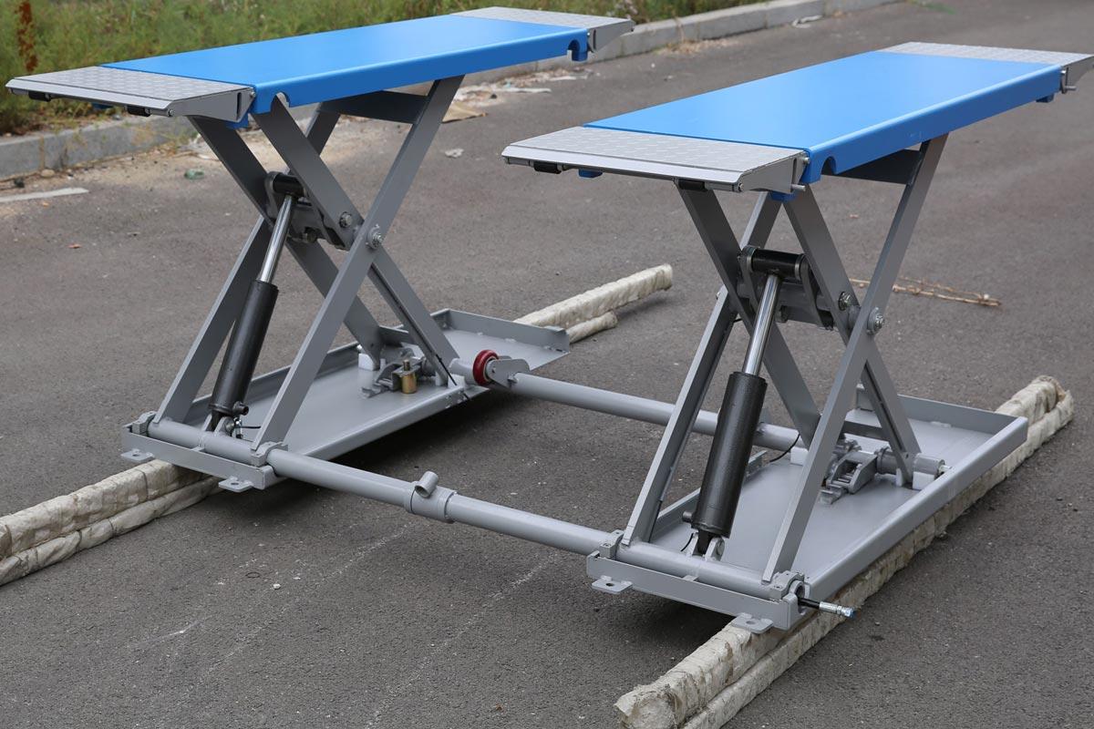 Vehicle Lifts 4 Home Vl4h1 Portable Mid Rise Scissor Lift
