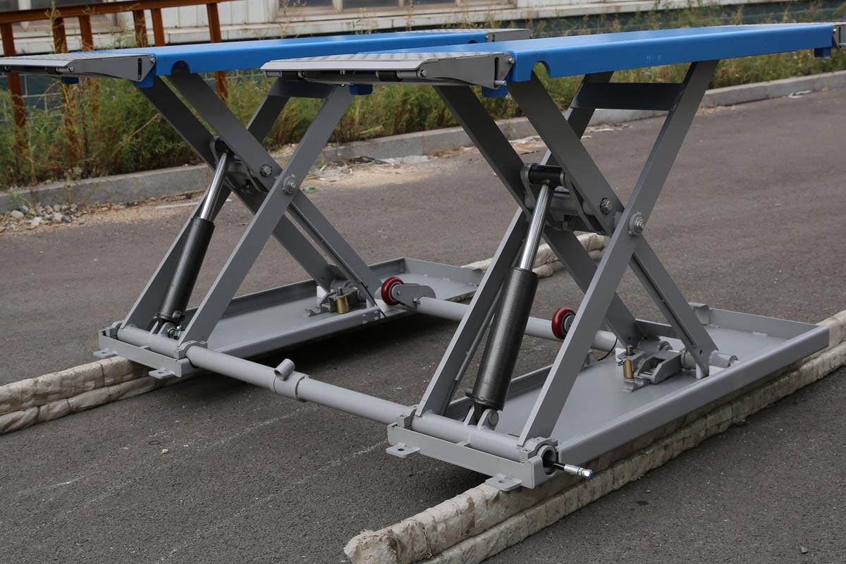 Vl4h1 Portable Mid Rise Scissor Lift Vehicle Lifts 4 Home